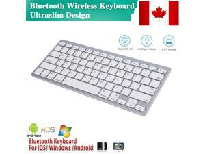 NEW SLIM WIRELESS BLUETOOTH KEYBOARD FOR IMAC IPAD ANDROID PHONE TABLET CANADA