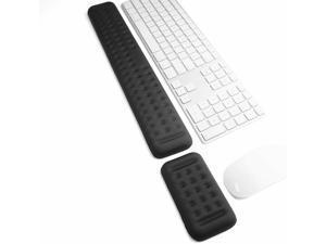 Keyboard Mouse Wrist Rest Support Memory Foam Ergonomic Wrist Cushion Anti-Slip