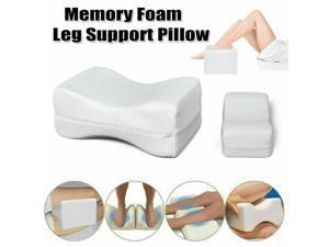 Memory Foam Knee Pillow Side Sleeper Leg Pillow Cushion Bed Pillow Leg Support