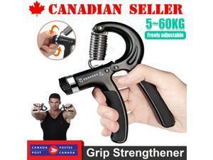 5-60KG Hand Grip Gripper Strength Exerciser Wrist Forearm Muscle Training Tool