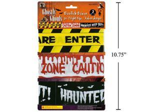 Ghostly Ghouls 30' Fright Tape, 3pcs/Pack