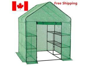 LIVINGbasic W/ 3 Tiers 12 Shelves Stands Outdoor Herb Flower Plant 61 x 55 x 78'