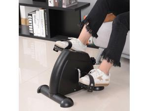 Portable Mini Pedal Exercise Bike Indoor Cycle Fitness Arm Leg w/ LCD Display