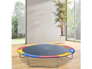 Round Trampoline Enclosure Trampolining Bounce Safety Net