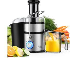 """KOIOS Centrifugal Juicer Machines, Juice Extractor with Big Mouth 3"""" Feed Chute, 304 Stainless-steel Fliter, Best Seller Juicer 2020, High Juice yield, Easy to Clean&100% BPA-Free, 1200W&Powerful."""