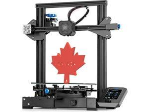 Official Creality Ender 3-V2 from Canadian local seller-Mech Solutions Ender-3 V2 3D Printer with Silent Motherboard Meanwell Power Supply Glass Platform and Resume Printing 220x220x250mm