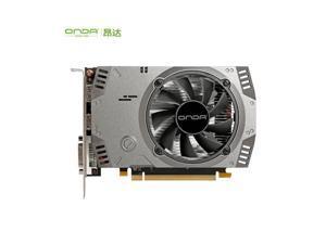 ONDA RX 550 4GB D5 DDR5 1071/6000MHz DP HDMI DVI PCI-Express 3.0 128-Bit Graphics Card