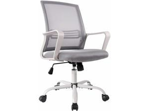 Smugdesk Office Chair, Ergonomic Executive Chair with Armrests, Gray