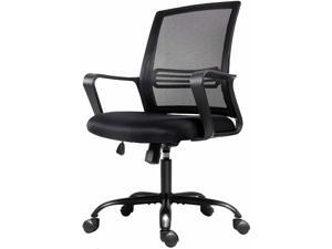 Smugdesk Office Chair, Mesh Office Computer Swivel Desk Task Chair, Ergonomic Executive Chair with Armrests