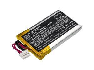 Battery for DeLorme MYT783968 INCRH20 INRCH25 InReach Explorer Q639603N T7V1315