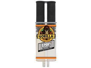 542006 - EPOXY FAST SET DUAL SYRINGE 25ML CLEAR GORILLA 5 MINUTES