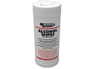 8241-T - ISOPROPYL ALCOHOL WIPES 6X7INCH 75PCS/BOX 70% ALCOHOL