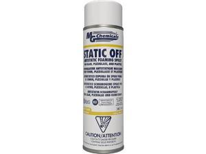 826-450G - ANTISTATIC FOAMING SPRAY 450G NON-FLAMMABLE AND NON-ABRASIVE