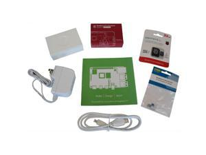 80AH9359 - RASPBERRY PI4 B STARTER KIT 4GB 32GB MSD W/NOOBES PWR SUPP CASE
