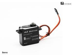 A2   metal gear high torque waterproof digital servo steering gear