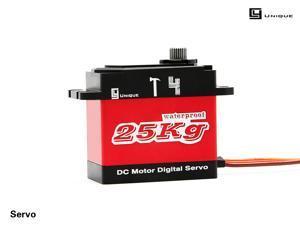 T4   metal gear high torque waterproof digital servo steering gear