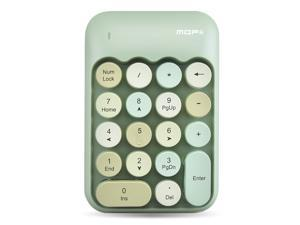 Wireless Numeric Keyboard 2.4G Financial Cash Register Mobile Game 18 Key Macaron Color