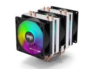aigo Gale CPU Air Cooling 6 Heatpipes 90mm Radiator 3 Fans LED Rainbow CPU Cooler PWM Fan For Intel LGA 775/1155/1156/115X/2011 AMD4/FM2/FM1/AM3+/AM3/AM2+/AM2 CPU