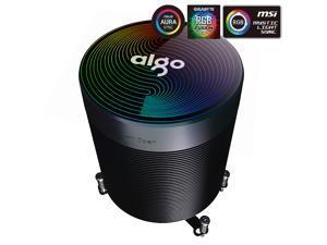 aigo Shadow Max CPU Air Cooler Addressable RGB CPU Cooler AURA SYNC 5 Heat-pipes Air Cooling System ARGB CPU Cooling PWM Long Life Bearing ARGB Fan Air Cooling Radiator