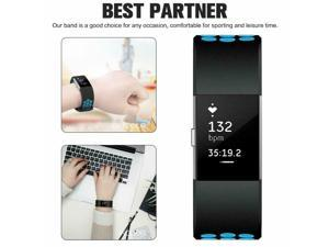 New Strap for  charge 2 band Silicone strap replacement watch Band CA SLR