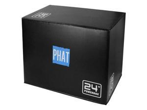 """3-in-1 Foam Plyo Jumping Box, Training and Box Jumps 20"""" 24"""" 30"""""""