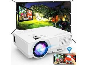 Mini WiFi Video Projector Synchronize Smart Phone Screen Supported 55000 Hours