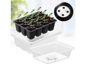 10-Pack Seed Trays 60 Cells Seedling Starter Tray