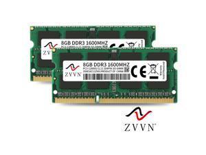 ZVVN 16GB Kit (2x 8GB) DDR3 1600 (PC3 12800) 204-Pin 1.5V SO-DIMM RAM Laptop Notebook Memory Model 3S8E16C11ZV02