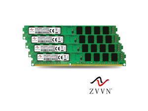 ZVVN 16GB Kit (4x 4GB) DDR3 1333 (PC3 10600) 1.5V 240Pin DIMM PC RAM Desktop Computer Memory Narrow Model 3U4E13C9ZV04-X