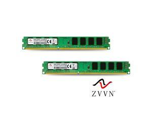 ZVVN 16GB Kit (2x 8GB) DDR3 1333 (PC3 10600) 240Pin CL9 Desktop DIMM RAM Computer Memory Narrow Model 3U8E13C9ZV02-X