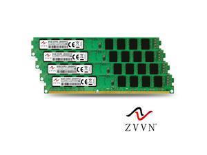 ZVVN 32GB Kit (4x 8GB) DDR3 1866 (PC3 14900) CL10 Desktop DIMM RAM 1.5V Computer Memory Narrow Model 3U8E18C10ZV04-X