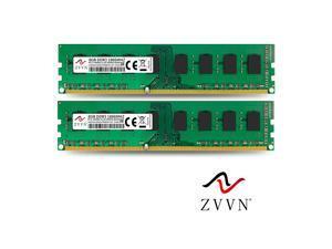 ZVVN 16GB Kit (2x 8GB) DDR3 1866 (PC3 14900) 2RX8 CL10 Desktop DIMM RAM 1.5V Computer Memory Model 3U8E18C10ZV02