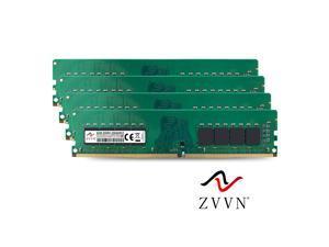 ZVVN 32GB Kit (4x 8GB) DDR4 2666MHz  (PC4 21300) CL19 288Pin DIMM RAM 1.2V Computer Desktop Memory  Model 4U8E26C19ZV04