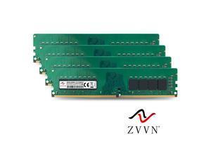 ZVVN 32GB Kit (4x 8GB) DDR4 2133MHz  (PC4 17000) CL15 288Pin DIMM RAM 1.2V Computer Desktop Memory  Model 4U8E21C15ZV04