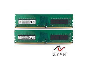 ZVVN 16GB Kit (2x 8GB) DDR4 2133MHz  (PC4 17000) CL15 288Pin DIMM RAM 1.2V Computer Desktop Memory  Model 4U8E21C15ZV02