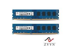 ZVVN 16GB Kit (2x 8GB) DDR3 1866 (PC3 14900) CL10 240Pin DIMM RAM Computer Desktop Memory Blue Model 3U8L18C10ZV02