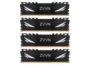 32GB (4 x 8GB) DDR3 2400 RAM (PC3 19200) Black Desktop Memory Model 240-Pin ZVVN 3U8H24C11ZVT0H04