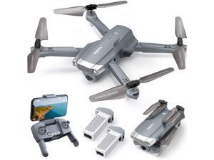 SYMA X500 4K Drone with UHD Camera for Adults, GPS Quadcopter for Beginner with 56 mins Flight Time, Brush Motor, 5GHz FPV Transmission, Auto Return Home, Follow Me, Light Positioning, 2 Batteries