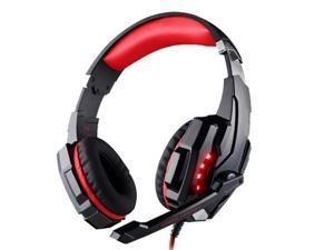 Gaming headset 7.1 compatible PS4 - USB 3.5mm - microphone and LED