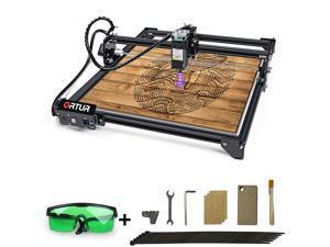 ORTUR Laser Master 2 LU1-4, Laser Engraver CNC, Laser Engraving Cutting Machine, DIY Laser Marking for Metal with 32-bit Motherboard LaserGRBL(LightBurn), 400x430mm Large Engraving Area