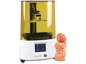 NOVA3D ELFIN3 Mini 3D Resin Printer UV Photocuring with 5.5 Inch Monochrome LCD 3D Printer, Printing Size 120x68x150mm Wi-Fi Off-line Printing
