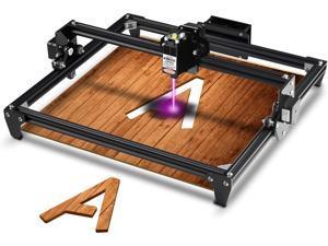 Totem Laser Engraver CNC Laser Engraving Cutting Machine, DIY Laser Marking for Metal 400x300mm (20w Input Power 5.5w Laser Power)
