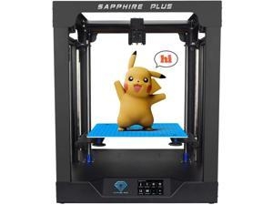 3D Printer Sapphire Plus Core XY 300*300*350mm Printing Size with Full Metal Body/Double Linear Guide/BMG Extruder/Power Resume/Filament Detect/Support Auto Leveling DIY 3D Printer Kit
