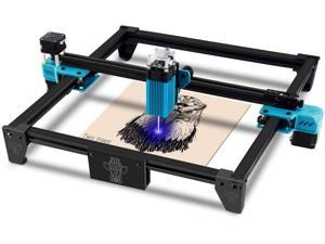 Totem S Laser Engraver CNC Laser Engraving Cutting Machine, DIY Laser Marking for Metal 300x300mm (40w Input Power and 5.5w Laser Power) 60% pre-Installed