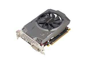 AMD GPU Radeon Video Card RX 550 4G TA Gaming Graphics Card, 4G/128bit/GDDR5 PCI-Express 3.0x8 DirectX 12,DVI-D HDMI DP Desktop Graphics Card (Radeon RX550-4G-TA)