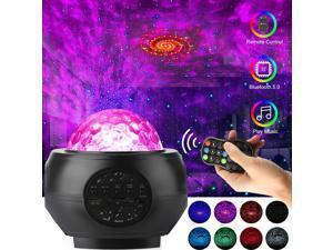Bluetooth LED Galaxy Projector Music Speaker Starry Night Lamp Star Night Light