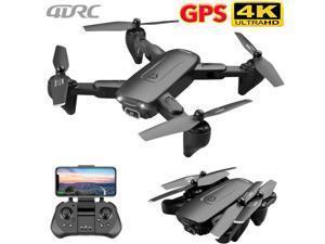 Drone Foldable Quadcopter GPS 5G WIFI FPV 4K Wide-Angle HD Camera HD Aircraft US