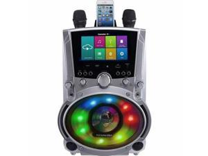"All-In-One Wi-Fi Karaoke Machine with 7"" Screen  2 Microphones"