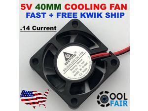 5V 40mm Cooling Computer Case Fan 4010 40x40x10mm DC PC 3D Printer 2-Pin
