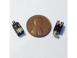 Cellphone DC 3V Vibron Micro Mini Motor 8mm x 4mm Replacement 2-pin 2 Pcs